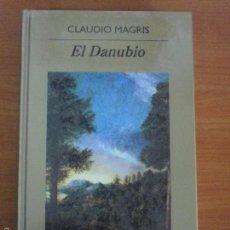 Libros de segunda mano: EL DANUBIO. CLAUDIO MAGRIS. BIBLIOTECA ANAGRAMA Nº 26. ANAGRAMA. Lote 56538600