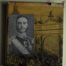 Libros de segunda mano: ALFONSO XII - J. CORTES CAVANILLAS - EDITORIAL JUVENTUD 1961, 1ª EDICION - (TAPA DURA). Lote 56559232