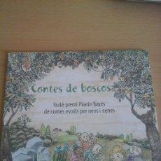 Libros de segunda mano: CONTES DE BOSCOS VUITE PREMI PILARIN BAYES. Lote 56548579