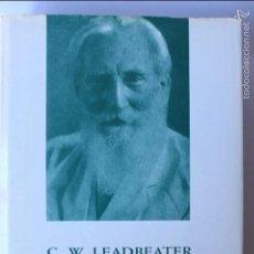 Libri di seconda mano: LA VIDA INTERNA. C.W. LEADBEATER. EDIT. TEOSÓFICA, 1992, BARCELONA. 801. Lote 56578381