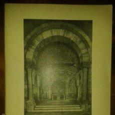 Libros de segunda mano: LIBROS ARTE ROMANICO 25 - SANTA MARIA DE LA PORQUERAS IGLESIA ROMANICA SIGLO XII. Lote 56602231