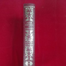 Libros de segunda mano: SOBRE EL AMOR - JOSE ORTEGA Y GASSET - EDITORIAL PLENITUD - MADRID - 1963 - 17,5 X 12,5 CM - 557 PP.. Lote 56622862