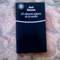 Libros de segunda mano: EL OBSCENO PAJARO DE LA NOCHE, DE JOSE DONOSO (EL MUNDO CARTONE). Lote 28600563