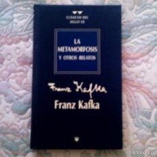 Libros de segunda mano: LA METAMORFOSIS Y OTROS RELATOS, DE FRANZ KAFKA (RBA. CARTONE). Lote 28600645
