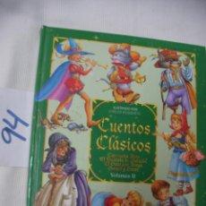 Libros de segunda mano: CUENTOS CLASICOS - CARLOS BUSQUETS. Lote 56658673