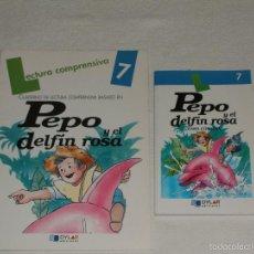 Libros de segunda mano: PEPO Y EL DELFÍN ROSA DE ISABEL CÓRDOVA. Lote 56669090
