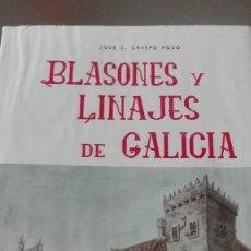 Libros de segunda mano: BLASONES Y LINAJES DE GALICIA POR JOSÉ S. CRESPO POZO VOLUMEN III. Lote 56681198