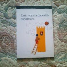 Libros de segunda mano: CUENTOS MEDIEVALES ESPAÑOLES (NUEVA BIBLIOTECA DIDACTICA ANAYA). Lote 56688131