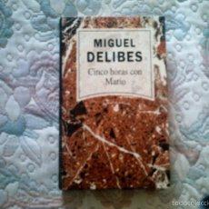 Libros de segunda mano: CINCO HORAS CON MARIO, DE MIGUEL DELIBES (RBA). Lote 56688791