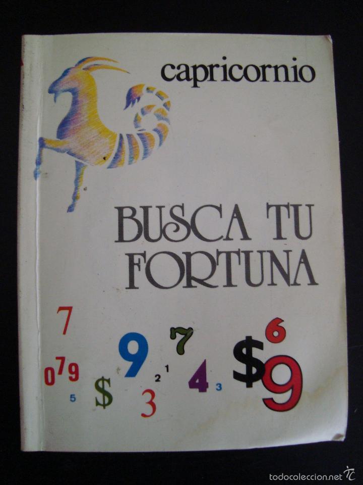 BUSCA TU FORTUNA. CAPRICORNIO. EDITORIAL ASTRI. (Libros de Segunda Mano - Parapsicología y Esoterismo - Otros)