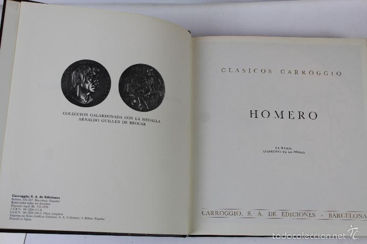 Libros de segunda mano: L-3762 COLECCION CLASICOS CARROGGIO 15 TOMOS AÑOS 1972-79 - Foto 4 - 56734463