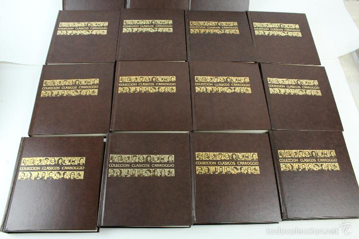 Libros de segunda mano: L-3762 COLECCION CLASICOS CARROGGIO 15 TOMOS AÑOS 1972-79 - Foto 11 - 56734463