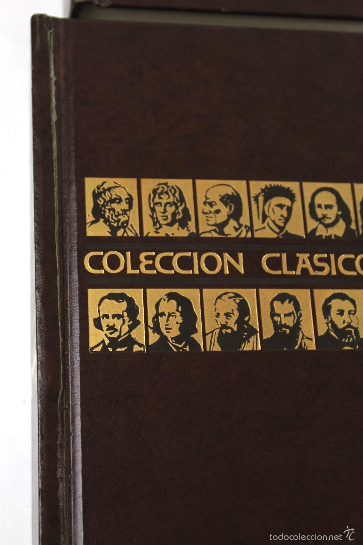 Libros de segunda mano: L-3762 COLECCION CLASICOS CARROGGIO 15 TOMOS AÑOS 1972-79 - Foto 12 - 56734463