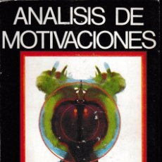 Libros de segunda mano: ANÁLISIS DE MOTIVACIONES (R. MAROTO 1968) SIN USAR.. Lote 56742238