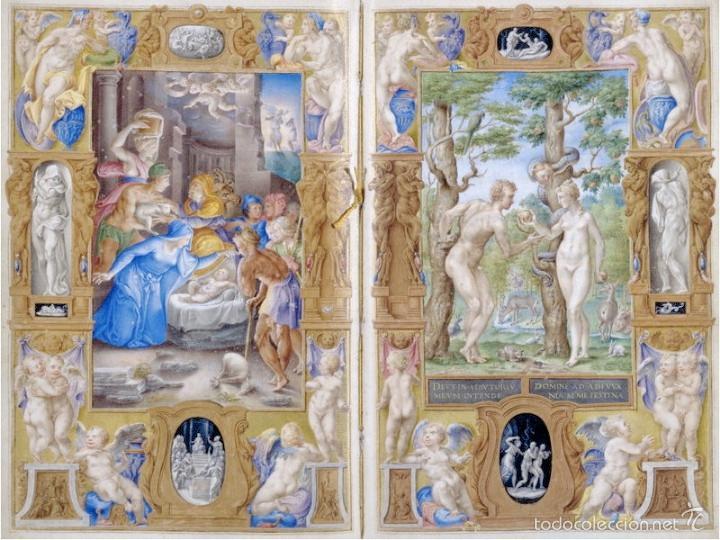 LIBRO DE HORAS DEL CARDENAL ALEJANDRO FARNESIO (S. XVI) + ESTUDIO EN CASTELLANO (Libros de Segunda Mano - Bellas artes, ocio y coleccionismo - Otros)