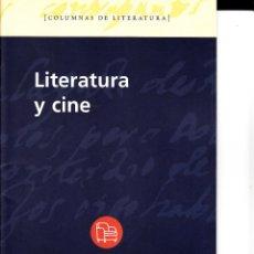 Libros de segunda mano: LLITERATURA Y CINE. PUNTO DE LECTURA. SANTILLANA. 24 PAGS.. Lote 56830225