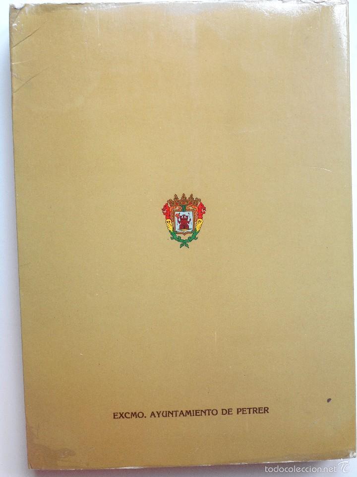 Libros de segunda mano: LA FIESTA DE MOROS Y CRISTIANOS DE PETRER - HIPÓLITO NAVARRO VILLAPLANA - AÑO 1983 - Foto 2 - 56848388