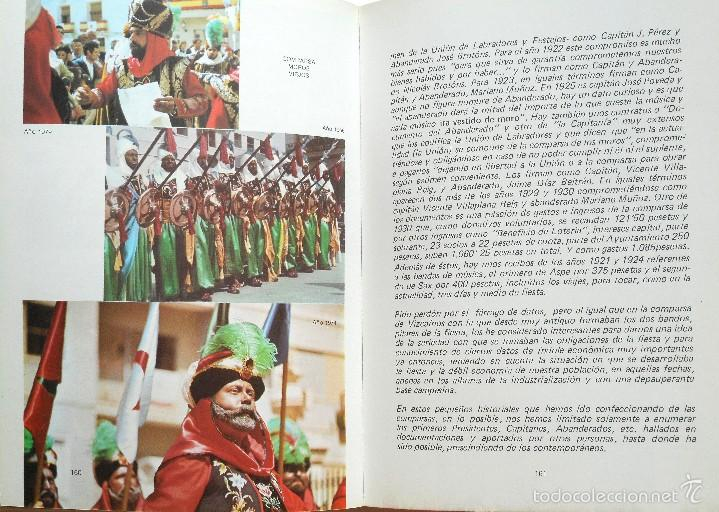 Libros de segunda mano: LA FIESTA DE MOROS Y CRISTIANOS DE PETRER - HIPÓLITO NAVARRO VILLAPLANA - AÑO 1983 - Foto 4 - 56848388