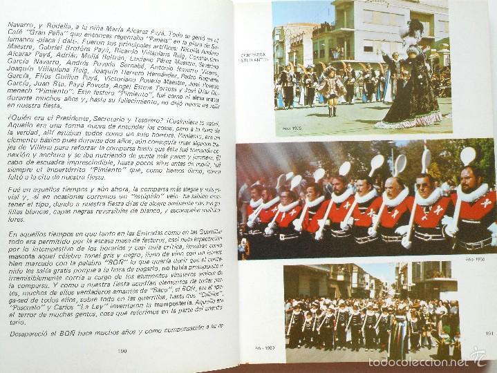 Libros de segunda mano: LA FIESTA DE MOROS Y CRISTIANOS DE PETRER - HIPÓLITO NAVARRO VILLAPLANA - AÑO 1983 - Foto 5 - 56848388