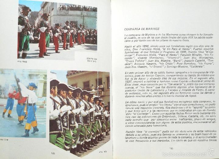Libros de segunda mano: LA FIESTA DE MOROS Y CRISTIANOS DE PETRER - HIPÓLITO NAVARRO VILLAPLANA - AÑO 1983 - Foto 6 - 56848388