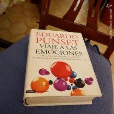 Gebrauchte Bücher - VIAJE A LAS EMOCIONES - EDUARDO PUNSET (TAPA DURA CON SOBRECUBIERTA ) 822 PP. - 56870102