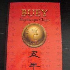 Libros de segunda mano: HOROSCOPO CHINO. BUEY. CHANG-SHIRU. EDAF.. Lote 56923009