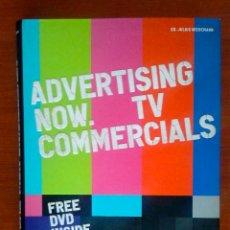 Libros de segunda mano: ADVERTISING NOW. TV COMERCIALS. TASCHEN 2009 -INCLUYE DVD-. Lote 56997474