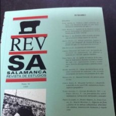 Libros de segunda mano: SALAMANCA REVISTA DE ESTUDIOS N42 . Lote 57001254