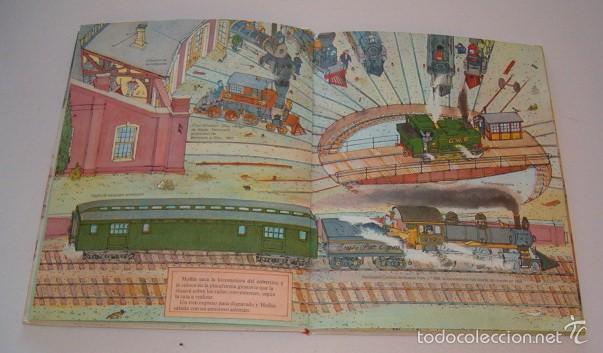 Libros de segunda mano: HUCK SCARRY. Trenes de vapor. RM74753. - Foto 2 - 57020404