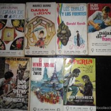 Libros de segunda mano: LOTE DE 7 LIBROS EDITORIAL PLAZA AÑOS 60 COLECCION ES UN LIBRO PLAZA. Lote 57023219