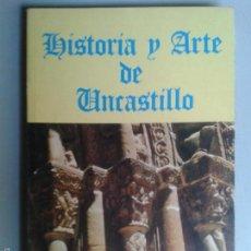 Libros de segunda mano: LIBROS ARTE ZARAGOZA - HISTORIA Y ARTE DE UNCASTILLO FRANCISCO MORENO 1977 . Lote 57049314