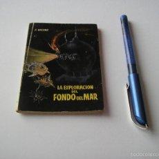 Libros de segunda mano: MINI LIBRO LA EXPLORACION DEL FONDO DEL MAR ENCICLOPEDIA PULGA E VICENS Nº 77 - EDICI G.P. BARCELONA. Lote 57069130