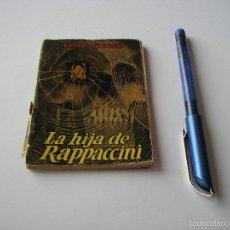 Libros de segunda mano: MINI LIBRO LA HIJA DE RASPUTIN ENCICLOPEDIA PULGA NATHANIEL HAWTHORNE Nº 71 - EDICI G.P. BARCELONA. Lote 57069165