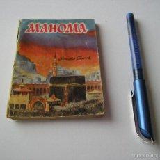 Libros de segunda mano: MINI LIBRO MAHOMA ENCICLOPEDIA PULGA POR SANTOS BASCH Nº 108 - EDICI G.P. BARCELONA. Lote 57069793