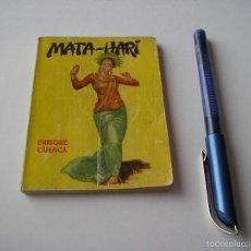 Libros de segunda mano: MINI LIBRO MATA-HARI ENCICLOPEDIA PULGA ENRIQUE CUENCA Nº 61 - G.P. BARCELONA. Lote 57069997