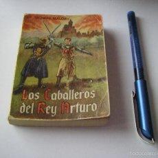 Libros de segunda mano: MINI LIBRO LOS CABALLEROS DEL REY ARTURO ENCICLOPEDIA PULGA THOMAS MALORY Nº 90 - G.P. BARCELONA. Lote 57070062