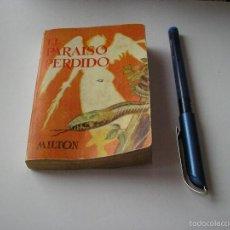 Libros de segunda mano: MINI LIBRO EL PARAISO PERDIDO ENCICLOPEDIA PULGA MILTON Nº 200 - G.P. BARCELONA. Lote 57070100