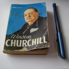 Libros de segunda mano: MINI LIBRO WINSTON CHURCHILL ENCICLOPEDIA PULGA DARI CREUS ZUÑIGA Nº 210 - EDICI G.P. BARCELONA. Lote 57070277