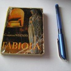 Libros de segunda mano: MINI LIBRO FABIOLA ENCICLOPEDIA PULGA POR CARDENAS WISEMAN Nº 40 - EDICI G.P. BARCELONA. Lote 57070349