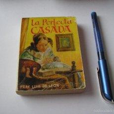 Libros de segunda mano: MINI LIBRO LA PERFECTA CASADA ENCICLOPEDIA PULGA POR FRAY LUIS DE LEON Nº 60 - EDICI G.P. BARCELONA. Lote 57070377