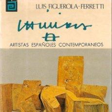 Libros de segunda mano: * EDUARDO CHILLIDA (1924-2002) * CHILLIDA / LUIS FIGUEROLA FERRETTI. Lote 57104801
