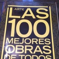Libros de segunda mano: DESCUBRIR EL ARTE. LAS 100 MEJORES OBRAS DE TODOS LOS TIEMPOS. . Lote 57107097