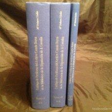 Libros de segunda mano: CATÁLOGO DE PARTITURAS DEL ARCHIVO CANUTO BEREA BIBLIOTECA DE LA DIPUTACIÓN DE LA CORUÑA 3 TOMOS. Lote 57111265