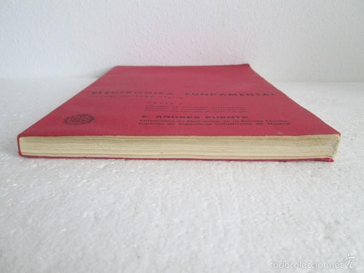 Libros de segunda mano: ELECTRONICA FUNDAMENTAL. MANUAL DE LABORATORIO POR E. ANDRES PUENTE. EDICION LITOPRINT.1962 - Foto 3 - 57125044