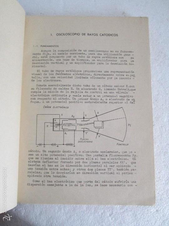 Libros de segunda mano: ELECTRONICA FUNDAMENTAL. MANUAL DE LABORATORIO POR E. ANDRES PUENTE. EDICION LITOPRINT.1962 - Foto 8 - 57125044