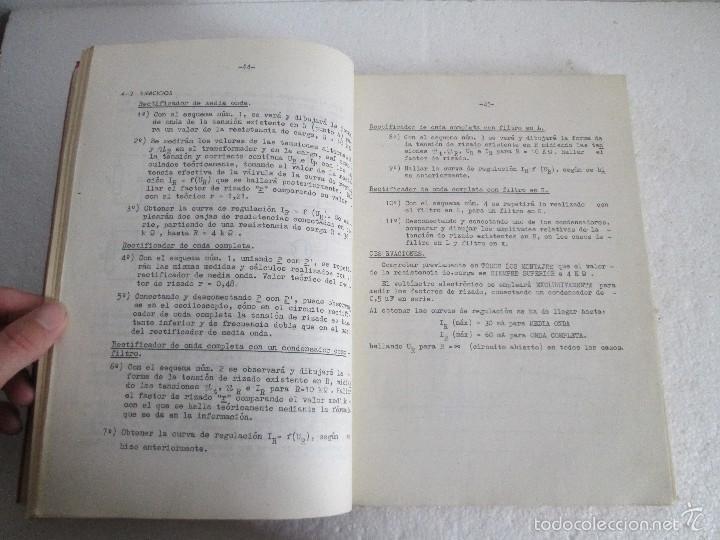 Libros de segunda mano: ELECTRONICA FUNDAMENTAL. MANUAL DE LABORATORIO POR E. ANDRES PUENTE. EDICION LITOPRINT.1962 - Foto 10 - 57125044