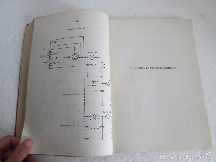 Libros de segunda mano: ELECTRONICA FUNDAMENTAL. MANUAL DE LABORATORIO POR E. ANDRES PUENTE. EDICION LITOPRINT.1962 - Foto 12 - 57125044