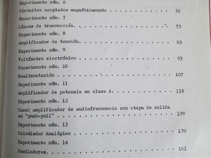 Libros de segunda mano: ELECTRONICA FUNDAMENTAL. MANUAL DE LABORATORIO POR E. ANDRES PUENTE. EDICION LITOPRINT.1962 - Foto 22 - 57125044