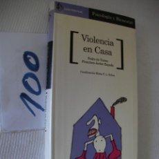 Libros de segunda mano: VIOLENCIA EN CASA - AGUILAR. Lote 57140893