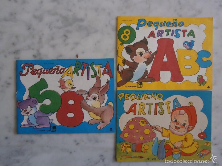 cuaderno para colorear pequeño artista - Comprar en todocoleccion ...